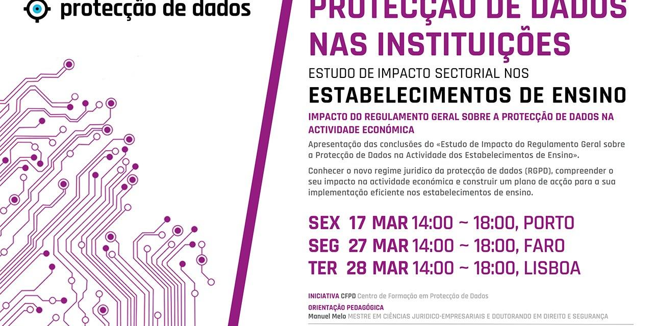 I Curso de Formação – «Protecção de Dados Pessoais nos Estabelecimentos de Ensino»