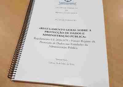 Manual do Curso «Regulamento Geral sobre a Protecção de Dados e Administração Pública Local, Regional e Central»