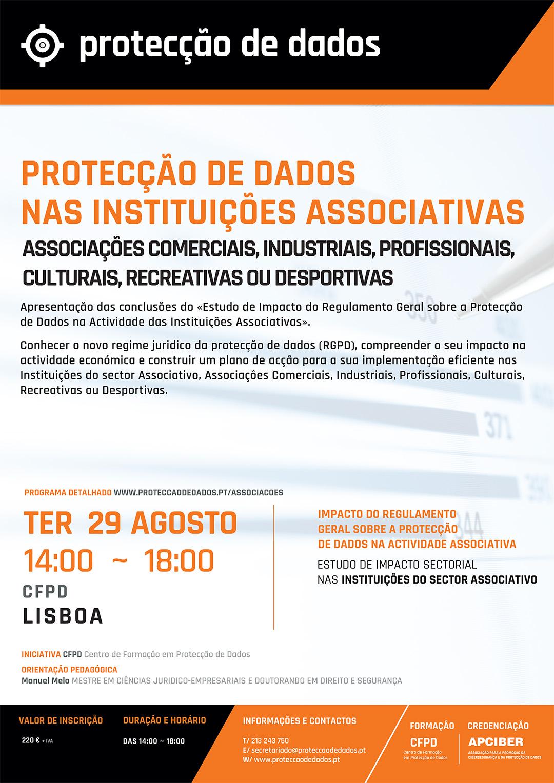 Estudo de Impacto Sectorial - «Protecção de Dados no Sector Associativo» - Impacto do RGPD nas Entidades Associativas