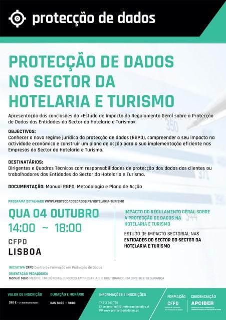 Estudo de Impacto da Aplicação do Regulamento Geral sobre a Protecção de Dados no Sector da Hotelaria e do Turismo