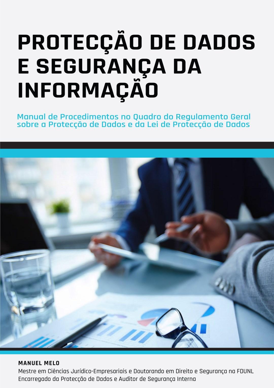 Capa - Manual de Protecção de Dados e da Segurança da Informação