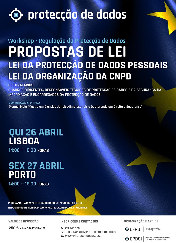 Workshop - Novas Propostas de Lei da Protecção de Dados Pessoais