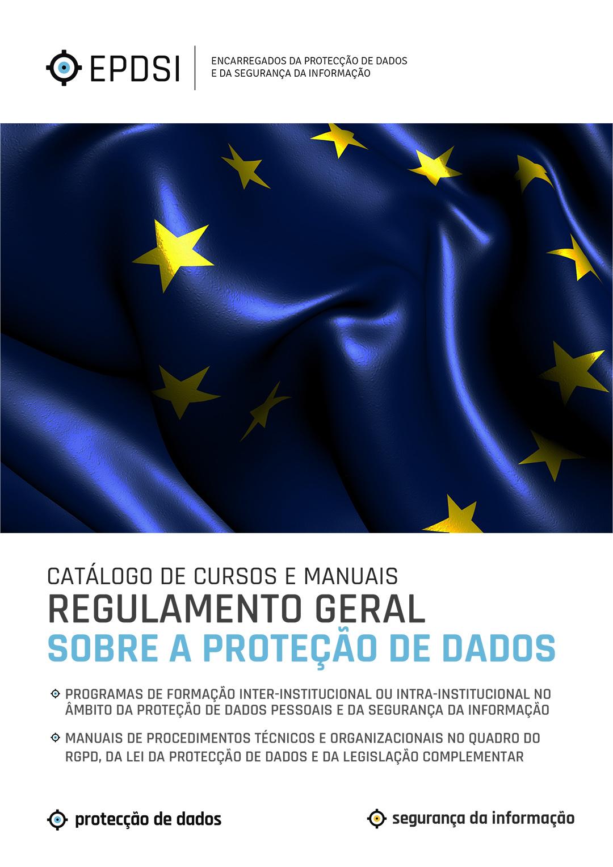 Catálogo Geral de Cursos - RGPD - CFPD - Centro de Formação em Protecção de Dados