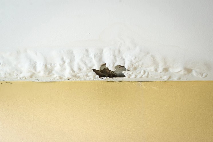 how to find water leak