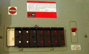 Fuse Box Amp Consumer Unit Changing