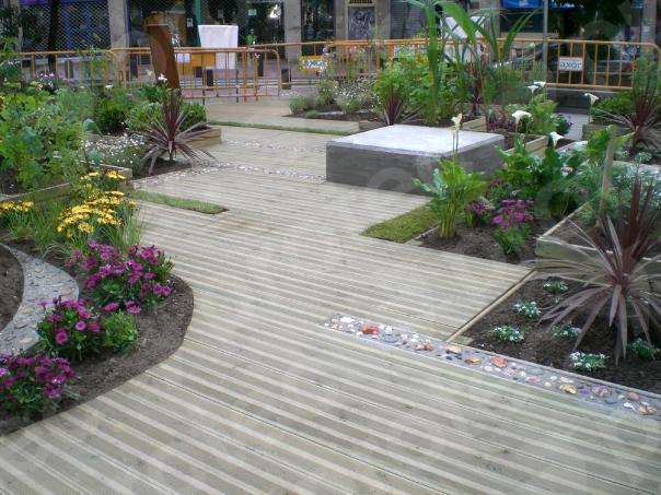 Jardines  Protec Madera