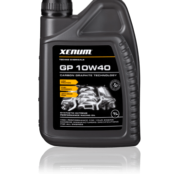 GP10W40 graphite motor oil