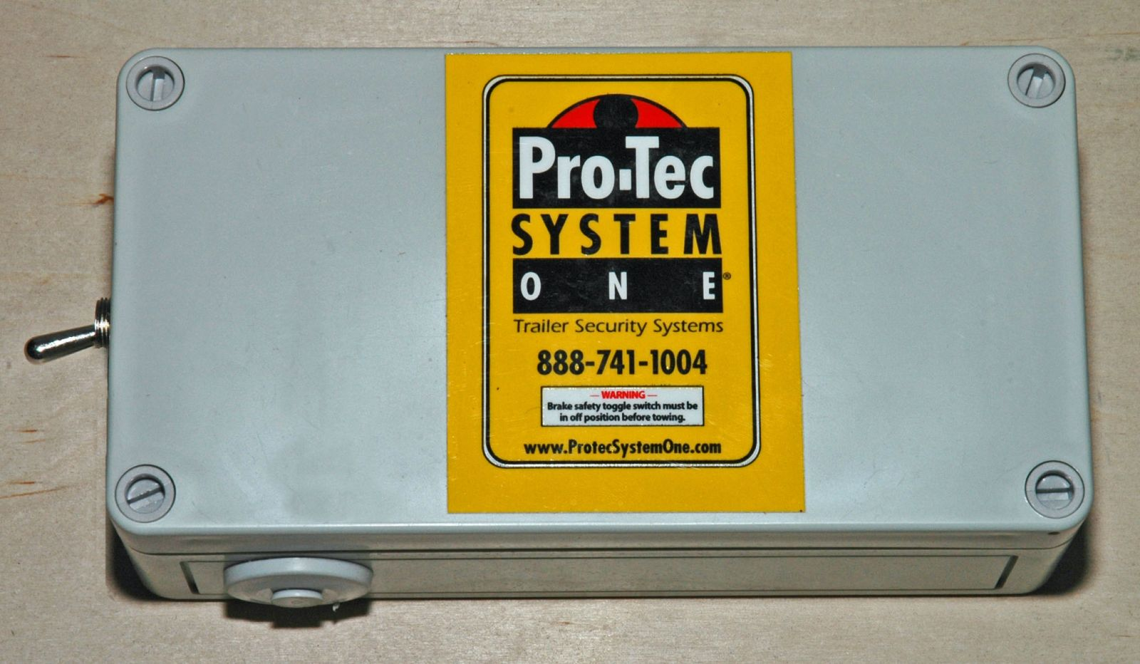 Installing Trailer Alarms – Pro-Tec System One