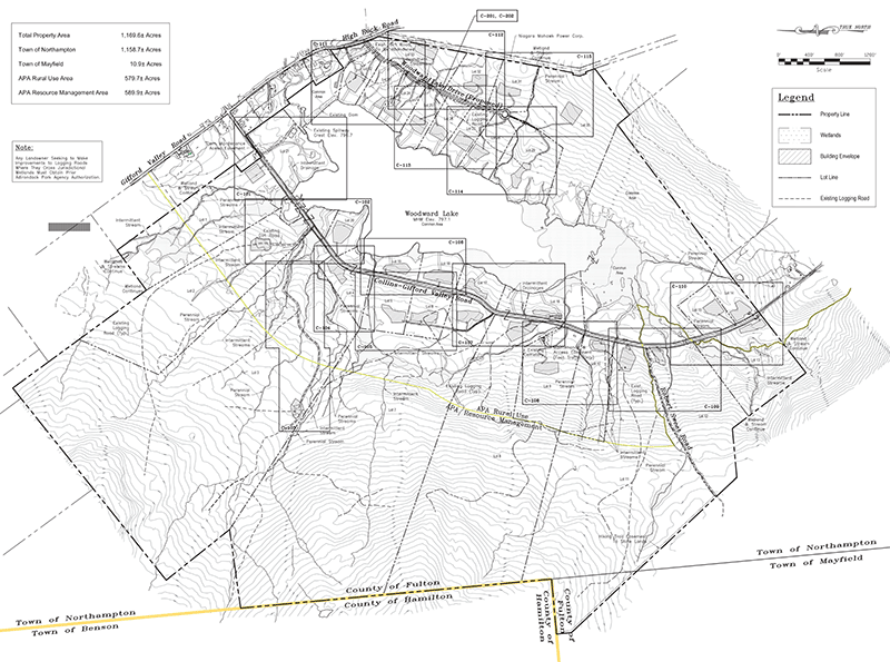 Proposed subdivision of Woodward Lake is a conventional