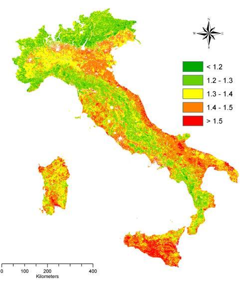 Paesaggio e desertificazione la geografia del rischio in Italia  PROTECTAweb