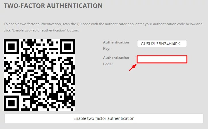How to Set Up Two-Factor Authentication on BitKonan with