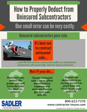 Uninsured Sub Deductions