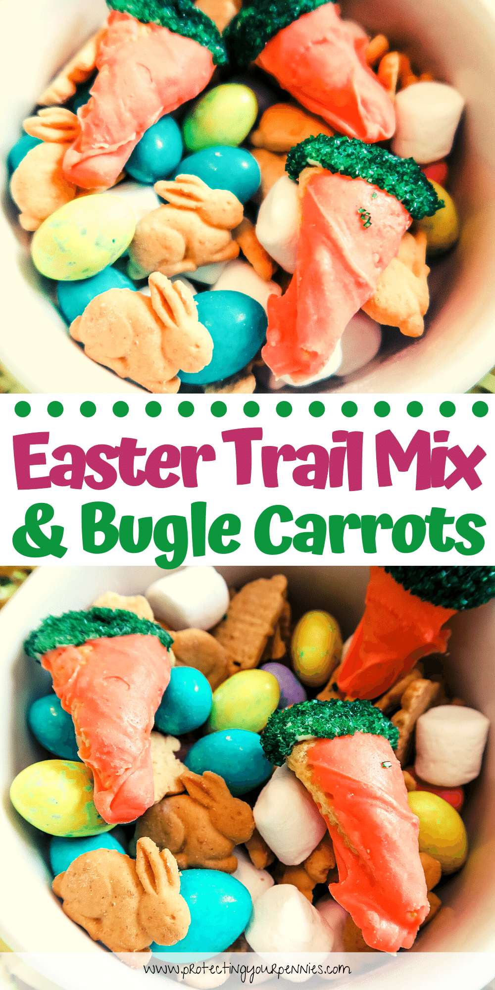 Easter Trail Mix & Bugle Carrots