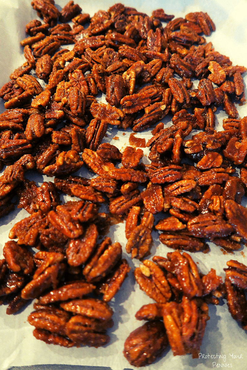 Low Carb Toffee Sugar Free Pecans