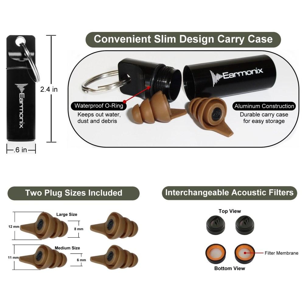 medium resolution of earmonix shooting impulse noise reducing ear plugs right ear diagram ear plug diagram
