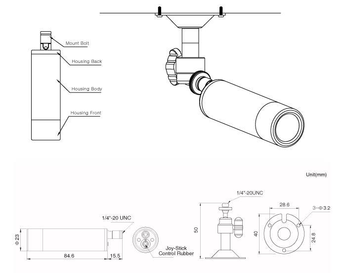 Ultra High Resolution Low Light Bullet Camera