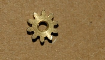 protector lamp pinion wheel
