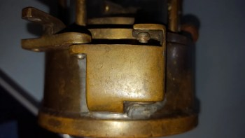 miners lamp lock