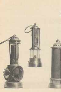 Miners lamp,flame safety lamp,davy lamp,eccles lamp