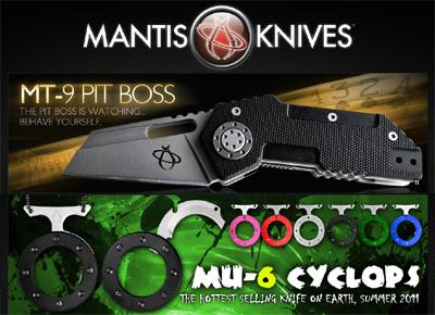 mantis-knives