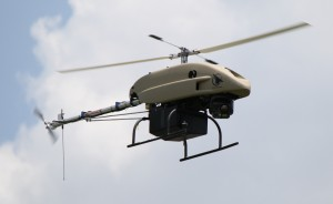 Shadowhawk, drône civil armé