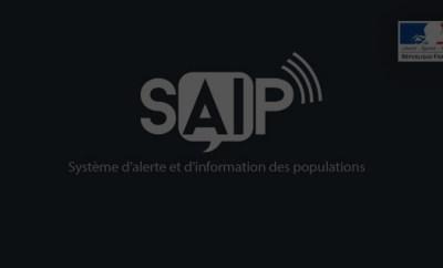 SAIP, le système d'alerte et d'info des populations