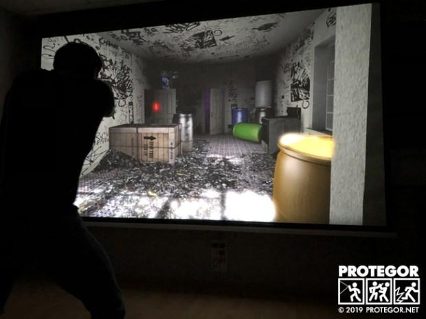 Scènes d'animations tactiques en Lasershot