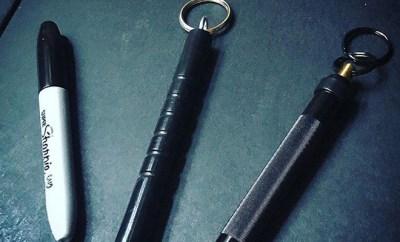 Accessoires de défense (sharpie, kubotan, lacrymogène)
