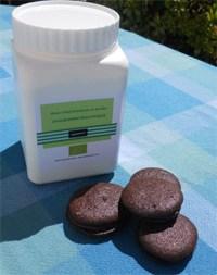 Macarons aux chocolat pour régime protéiné