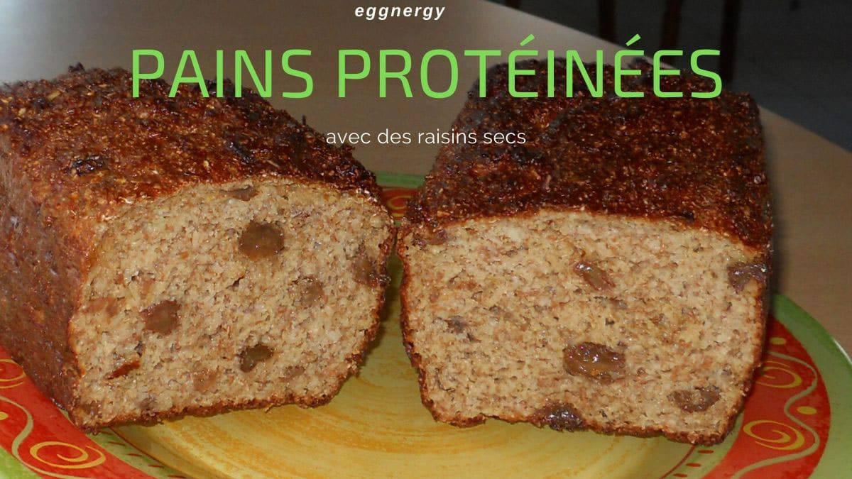 Recette originale du pain protéiné