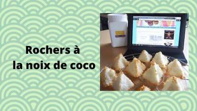 Recette de rochers à la noix de coco sans sucre