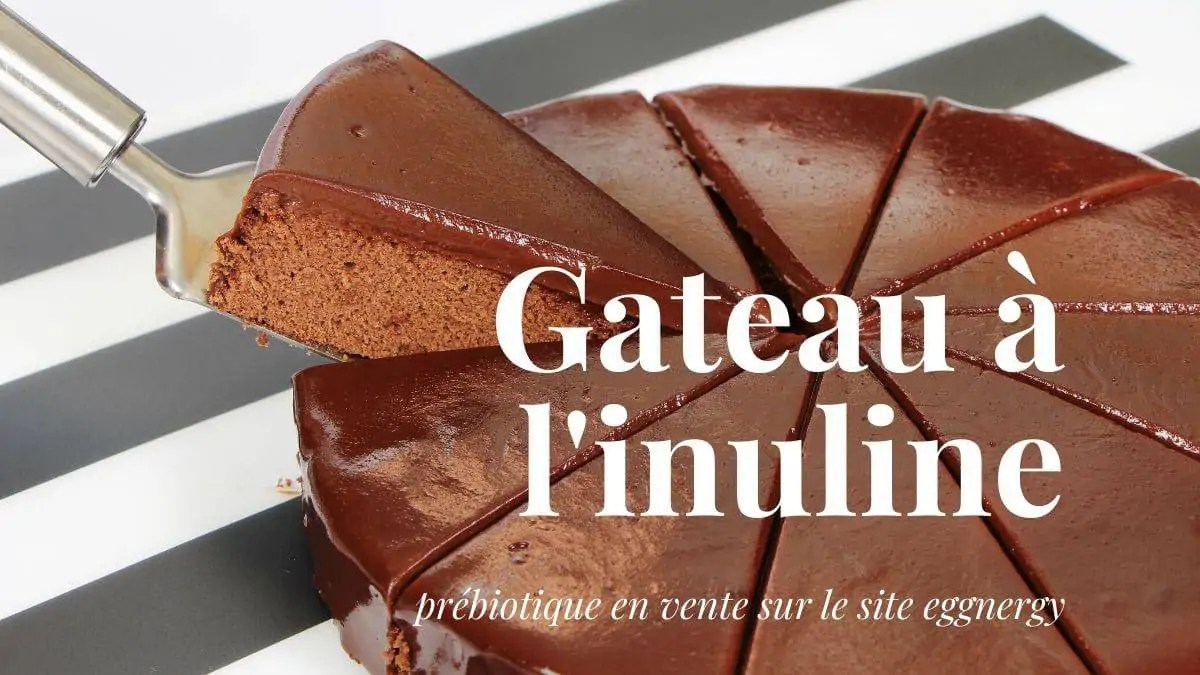 Un délicieux gâteau avec de l'inuline…