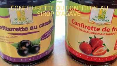 Confirette ou confiture au sirop d'agave