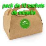 pack de 10 sachets de muesli