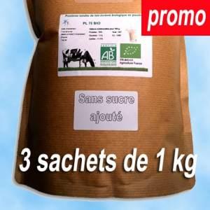 Promotion sur la protéine native biologique