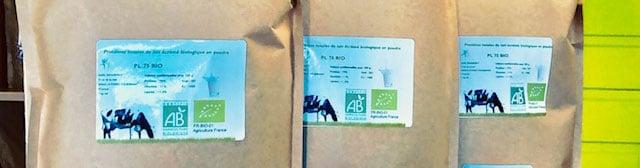 84€ les 3 kg de protéine totales de lait bio