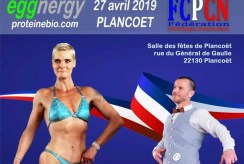 Championnat de Bretagne de Culturisme au naturel LRCPCN 2019