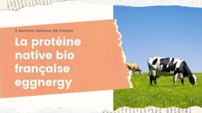 3 bonnes raisons de choisir la protéine native bio française