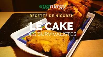 Le cake des survivalistes