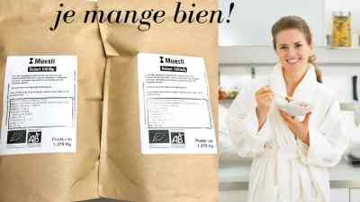 Read more about the article Mueslis biologiques sans sucre ajouté