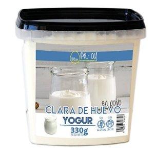 pr-ou Egg Protein–Clara d'œuf en poudre–330g–Yogurt