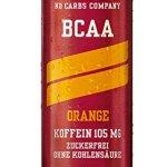 nocco BCAA Drink avec consigne–Goût Orange–No Carbs Company Fitness Drink