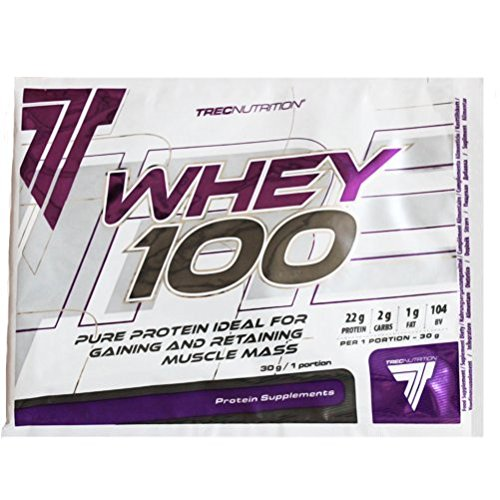 Trec Nutrition 12 Whey 100 Protéine de Lactosérum Saveur Chocolat/Coco – Lot de 2