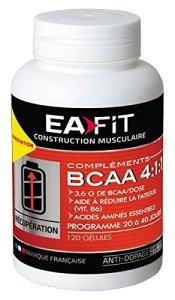 Eafit Acides Aminés BCAA 4.1.1 120 Gélules