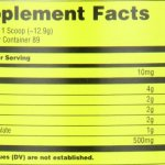 Universal Nutrition, Atomique 7, Supplément de performance BCAA, Cerise noire BMB, 1.15 kg