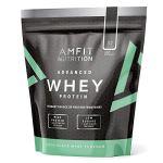 Marque Amazon – Amfit Nutrition Advanced Whey protéine de lactosérum saveur menthe et chocolat, 32 portions, 990 g