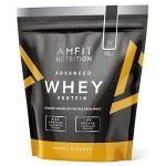 Marque Amazon – Amfit Nutrition Advanced Whey protéine de lactosérum saveur mangue, 32 portions, 990 g