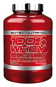 Scitec Nutrition 100% Whey Protein Professional protéine fraise 2350 g