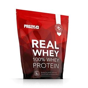 Prozis Poudre 100% Real Whey Protein (1000 g) – Meilleur goût vanille avec des acides aminés essentiels et riche en BCAA pour une récupération et une croissance musculaire maximales – 40 doses !