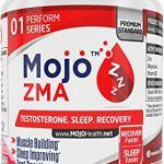 MOJO ZMA – ZMA Capsules   Supplément de Zinc, Magnésium, vitamine B6   Meilleure force Musculaire, Puissance   Augmente la Testostérone   Sleep Aid Night Recovery et Lucid Dreaming